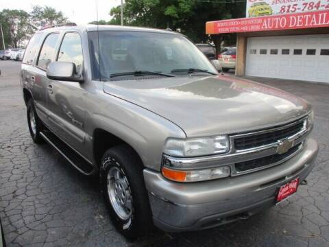 2003 Chevrolet Tahoe for sale at GENOA MOTORS INC in Genoa IL