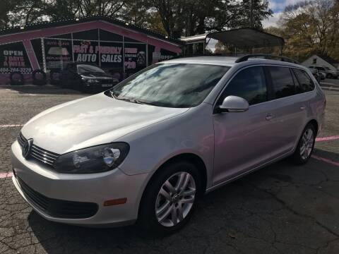2014 Volkswagen Jetta for sale at Fast and Friendly Auto Sales LLC in Decatur GA