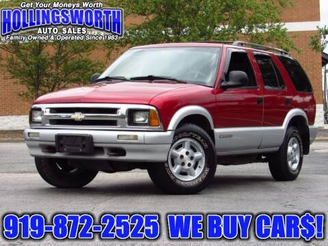 1995 Chevrolet Blazer for sale at Hollingsworth Auto Sales in Raleigh NC