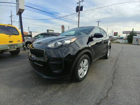 2017 Kia Sportage for sale at Regional Auto Sales in Madison Heights VA