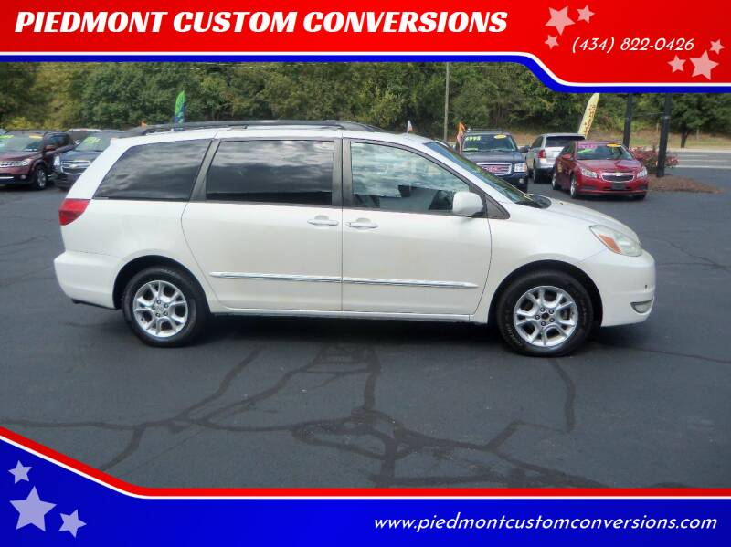 2004 Toyota Sienna for sale at PIEDMONT CUSTOM CONVERSIONS USED CARS in Danville VA
