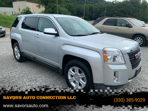 2011 GMC Terrain for sale at SAVORS AUTO CONNECTION LLC in East Liverpool OH