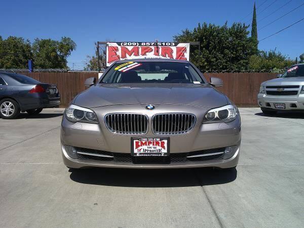 2013 BMW 5 Series for sale at Empire Auto Sales in Modesto CA