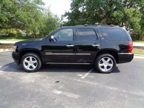 2013 Chevrolet Tahoe for sale at BALKCUM AUTO INC in Wilmington NC