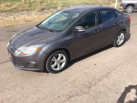 2013 Ford Focus for sale at G & B  Motors in Havre MT