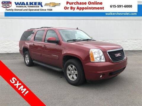 2014 GMC Yukon XL for sale at WALKER CHEVROLET in Franklin TN
