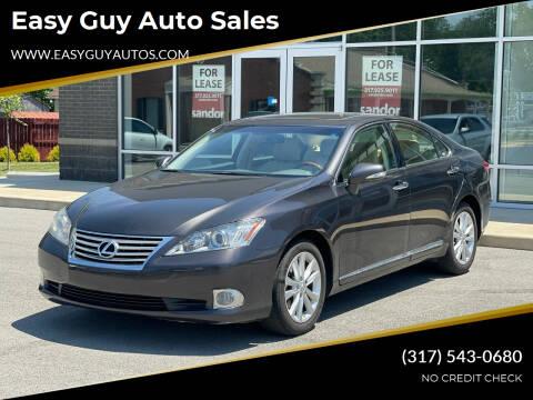 2012 Lexus ES 350 for sale at Easy Guy Auto Sales in Indianapolis IN