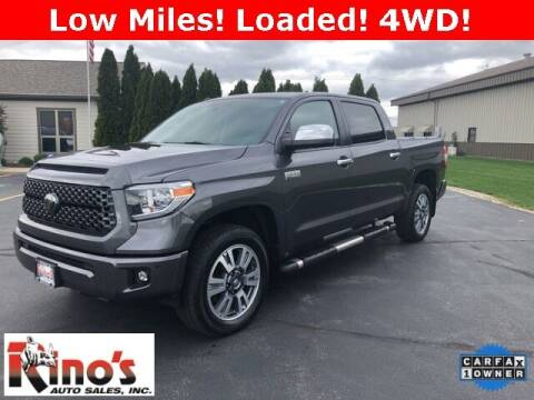 2018 Toyota Tundra for sale at Rino's Auto Sales in Celina OH