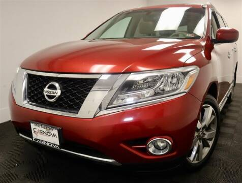 2014 Nissan Pathfinder for sale at CarNova in Stafford VA
