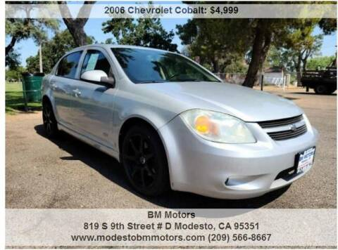 2006 Chevrolet Cobalt for sale at BM Motors in Modesto CA