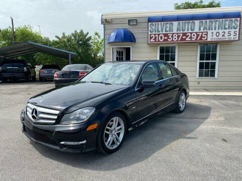 2012 Mercedes-Benz C-Class for sale at Silver Auto Partners in San Antonio TX