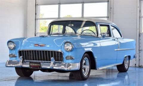 1955 Chevrolet Bel Air for sale at Mershon's World Of Cars Inc in Springfield OH