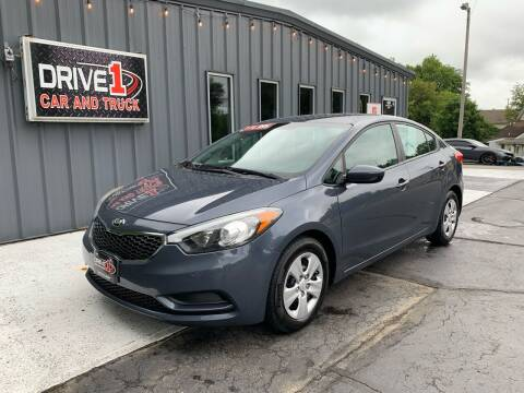 2016 Kia Forte for sale at Drive 1 Car & Truck in Springfield OH