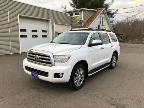 2008 Toyota Sequoia for sale at Prime Auto LLC in Bethany CT