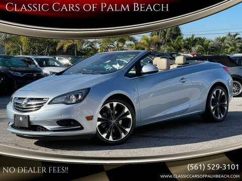 2017 Buick Cascada for sale at Classic Cars of Palm Beach in Jupiter FL