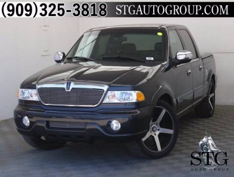 2002 Lincoln Blackwood for sale at STG Auto Group in Montclair CA