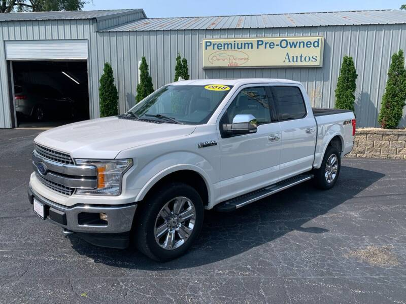2018 Ford F-150 for sale at PREMIUM PRE-OWNED AUTOS in East Peoria IL