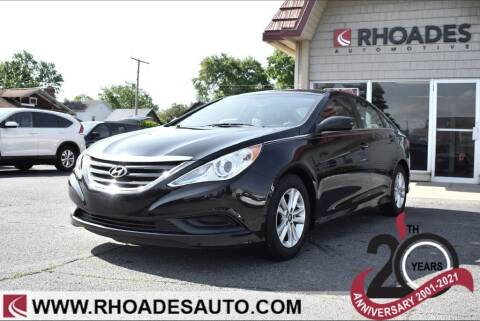 2014 Hyundai Sonata for sale at Rhoades Automotive Inc. in Columbia City IN