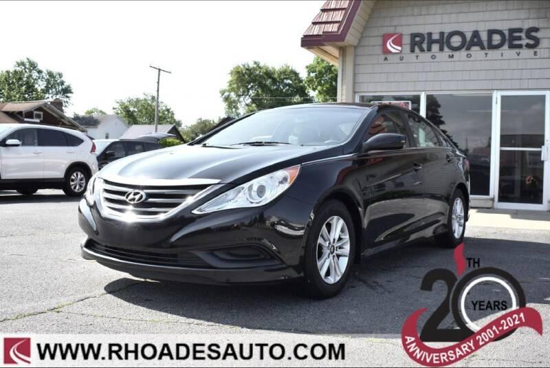 2014 Hyundai Sonata for sale at Rhoades Automotive in Columbia City IN