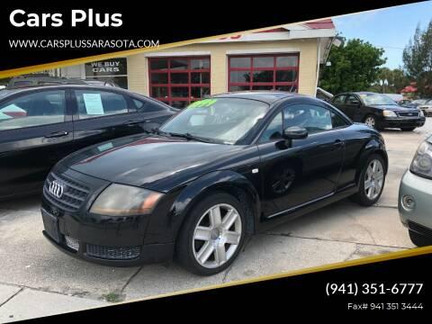2005 Audi TT for sale at Cars Plus in Sarasota FL