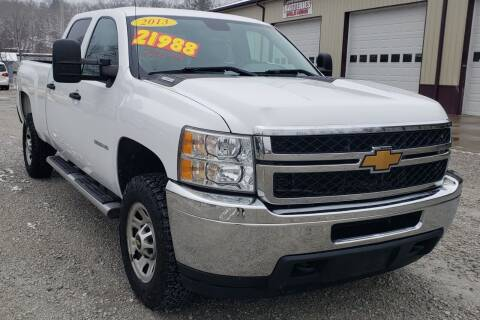 2013 Chevrolet Silverado 3500HD for sale at COOPER AUTO SALES in Oneida TN