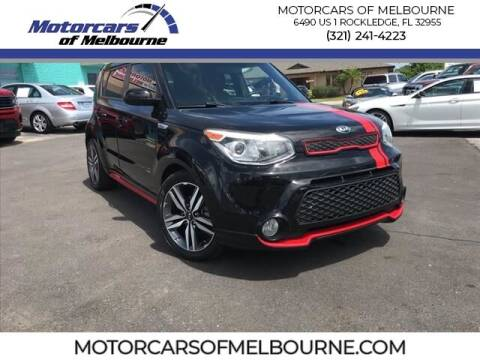 2015 Kia Soul for sale at Motorcars of Melbourne in Rockledge FL