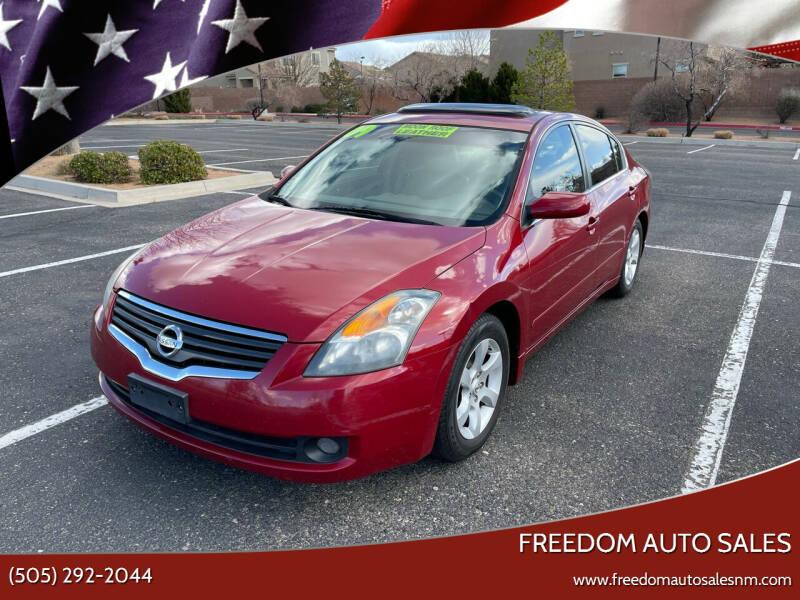 2009 Nissan Altima for sale at Freedom Auto Sales in Albuquerque NM