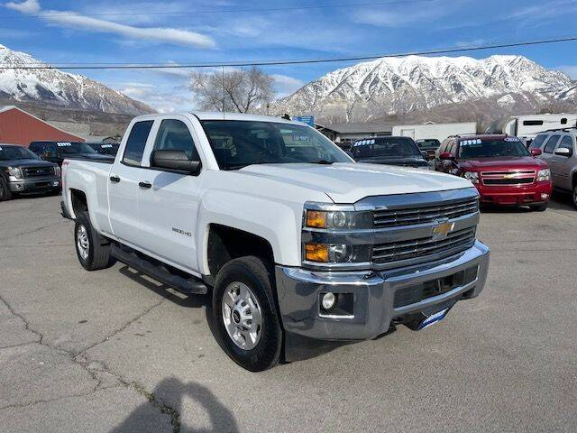 2015 Chevrolet Silverado 2500HD for sale at Orem Auto Outlet in Orem UT