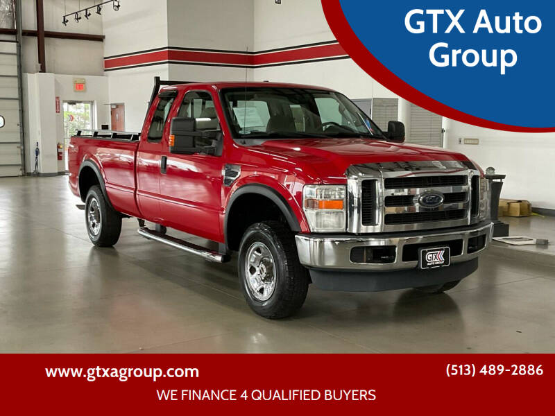 2008 Ford F-250 Super Duty for sale at GTX Auto Group in West Chester OH