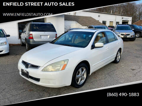 2004 Honda Accord for sale at ENFIELD STREET AUTO SALES in Enfield CT