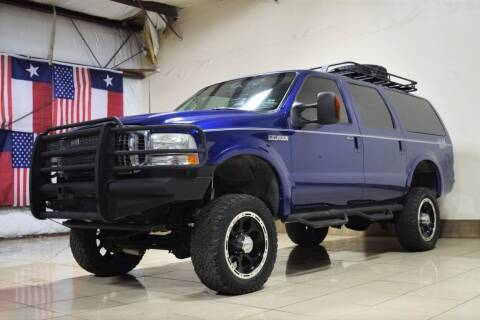 2003 Ford Excursion for sale at ROADSTERS AUTO in Houston TX