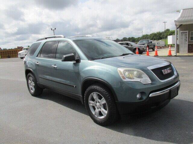 2009 GMC Acadia for sale at 412 Motors in Friendship TN