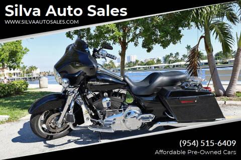 2009 Harley-Davidson Street Glide for sale at Silva Auto Sales in Pompano Beach FL