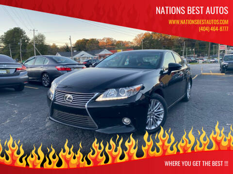 2015 Lexus ES 350 for sale at Nations Best Autos in Decatur GA