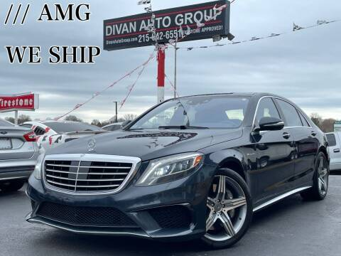 2014 Mercedes-Benz S-Class for sale at Divan Auto Group in Feasterville PA