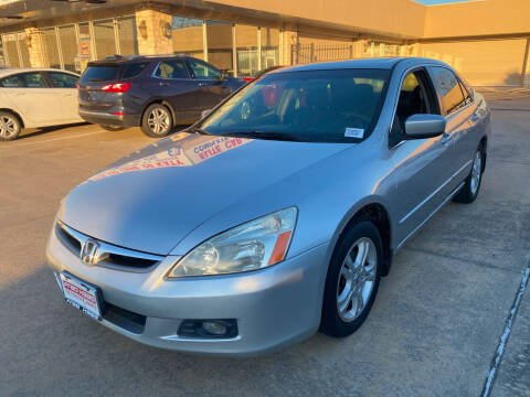 2007 Honda Accord for sale at Houston Auto Gallery in Katy TX