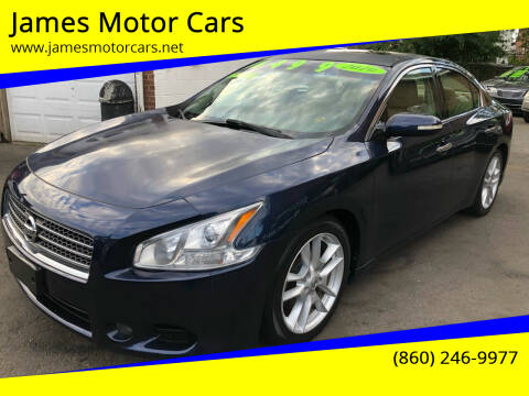 2010 Nissan Maxima for sale at James Motor Cars in Hartford CT