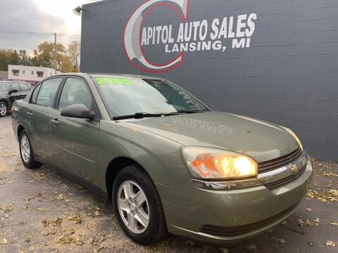 2005 Chevrolet Malibu for sale at Capitol Auto Sales in Lansing MI