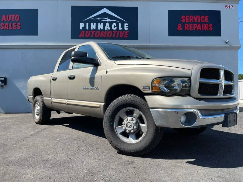 2003 Dodge Ram Pickup 2500 for sale at Pinnacle Automotive Group in Roselle NJ