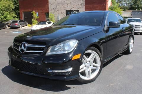 2015 Mercedes-Benz C-Class for sale at Atlanta Unique Auto Sales in Norcross GA