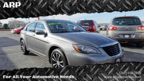 2013 Chrysler 200 for sale at ARP in Waukesha WI