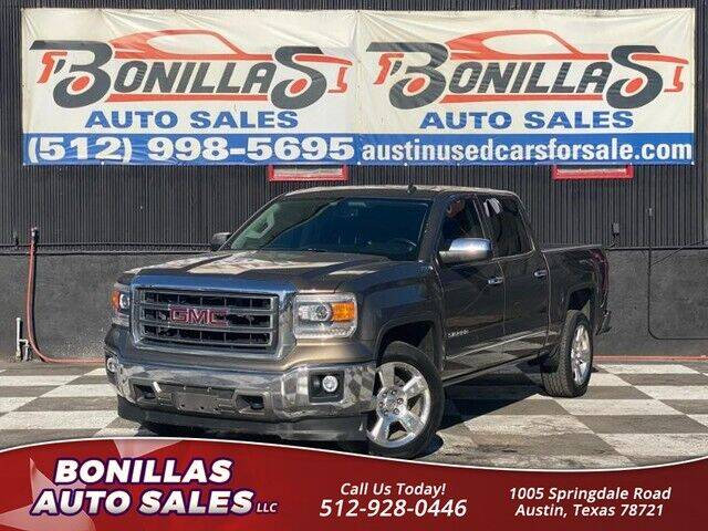 2014 GMC Sierra 1500 for sale at Bonillas Auto Sales in Austin TX