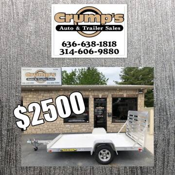2020 Aluma Utility Trailer for sale at CRUMP'S AUTO & TRAILER SALES in Crystal City MO