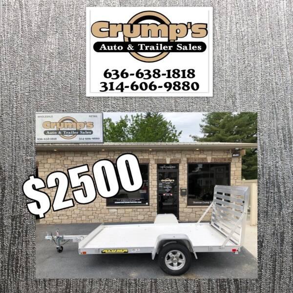 2020 Aluma Utility Trailer for sale at CRUMP'S AUTO & TRAILER SALES in Crystal City MO