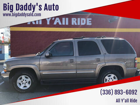 2004 Chevrolet Tahoe for sale at Big Daddy's Auto in Winston-Salem NC