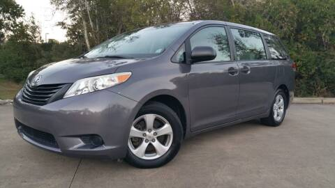 2011 Toyota Sienna for sale at Houston Auto Preowned in Houston TX