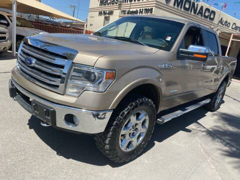 2013 Ford F-150 for sale at Monaco Auto Center LLC in El Paso TX