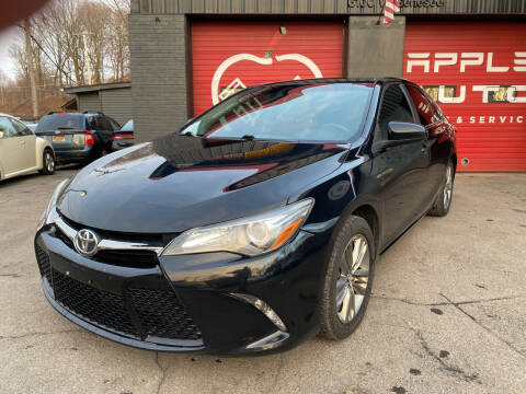 2016 Toyota Camry for sale at Apple Auto Sales Inc in Camillus NY