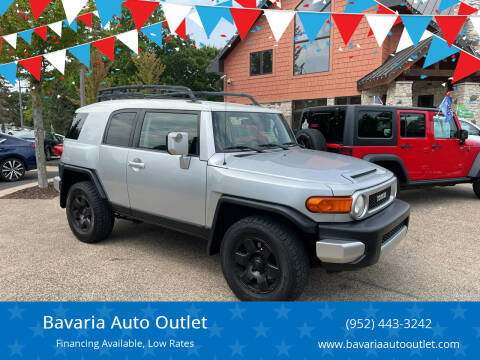 2008 Toyota FJ Cruiser for sale at Bavaria Auto Outlet in Victoria MN