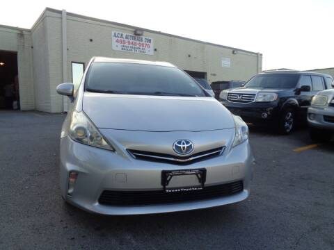2012 Toyota Prius v for sale at ACH AutoHaus in Dallas TX